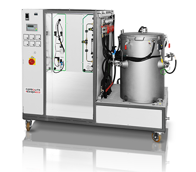 Laboratory furnace, metal insulation (LHTM/W)