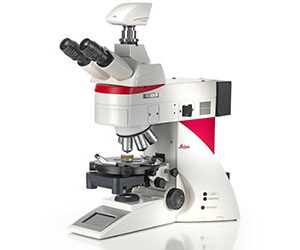Crystal Clear Upright Microscope for Polarization Leica DM4 P