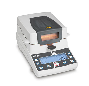 Moisture Analyser DAB with User-friendly Graphics Display
